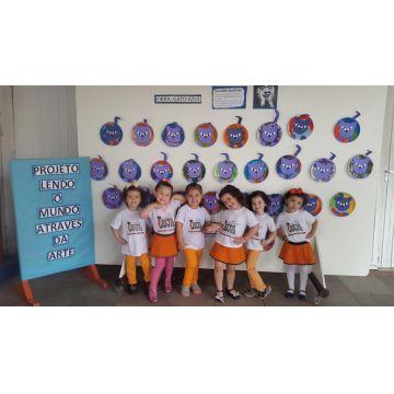 Infantil II A e B - Projeto Lendo o Mundo através da Arte