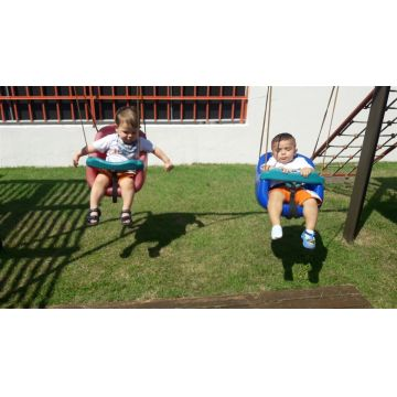 Maternal (Matutino) - Obaaa!! Que delicia, brincar no parque!!