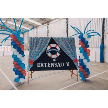 1º dia de aula Extensão X - Painel Inf. 5 ao 5º ano