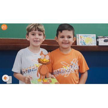 Infantil 5 e 1º ano - Personagens da EI em realidade aumentada
