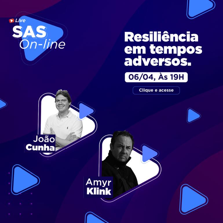 Convite Live SAS com Amyr Klink